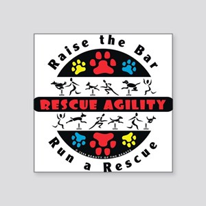 Rescue Agility - Raise Rectangle Sticker