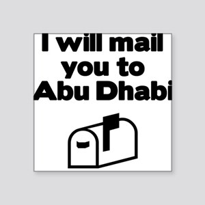 Abu Dhabi Rectangle Sticker