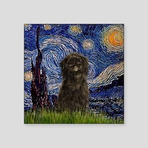"TILE-Starry-Affen3 Square Sticker 3"" x 3"""