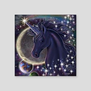 "Stellar Unicorn Square Sticker 3"" x 3"""