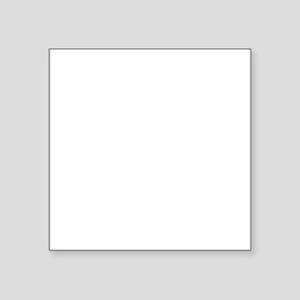 """Video Zombie Square Sticker 3"""" x 3"""""""