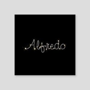 """Alfredo Spark Square Sticker 3"""" x 3"""""""