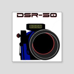 """DSR-50 Square Sticker 3"""" x 3"""""""
