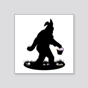 Easter Squatchin Sticker