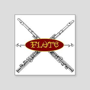 Flute Tribal Sticker