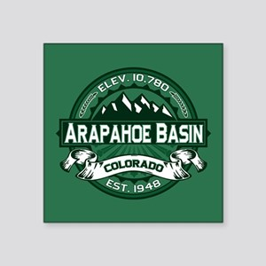 "Arapahoe Basin Forest Square Sticker 3"" x 3"""