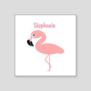 Personalized Flamingo Sticker