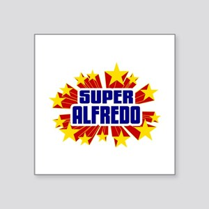 Alfredo the Super Hero Sticker