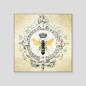 Vintage French Queen Bee Sticker