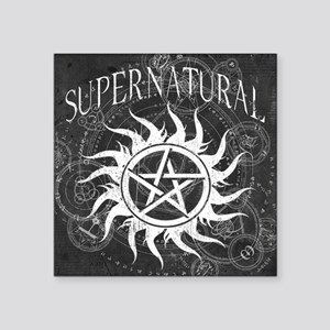 Supernatural Black Sticker