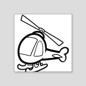 helicopter mom onesie Sticker