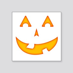 Goofy Pumpkin (Orange) Sticker