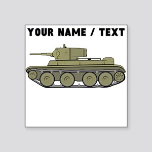 Custom Military Tank Sticker