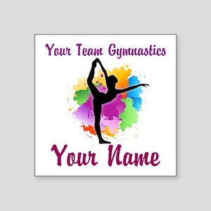 Customizable Gymnastics Team Sticker
