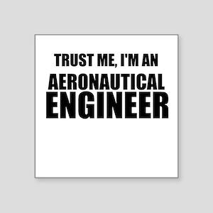 Trust Me, Im An Aeronautical Engineer Sticker