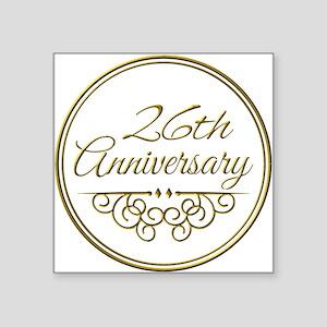 26th Anniversary Sticker