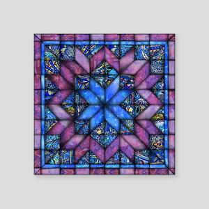 Purple Quilt Sticker