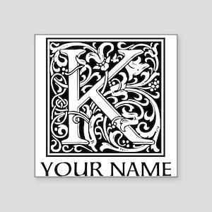 Custom Decorative Letter K Sticker
