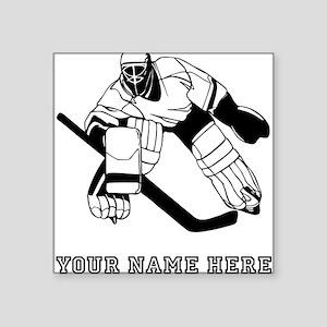 Custom Hockey Goalie Sticker