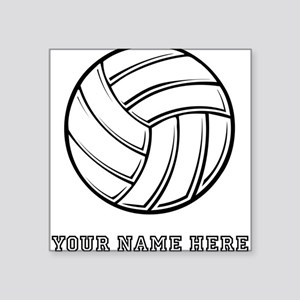 Custom Volleyball Sticker
