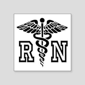 RN Nurse Caduceus Sticker