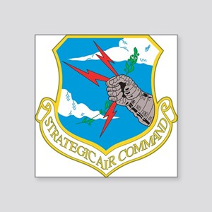 Strategic Air Command Rectangle Sticker