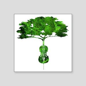 Cello tree-2 Sticker