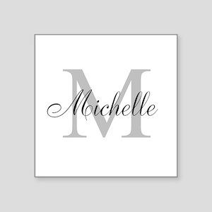Personalized Monogram Name Sticker