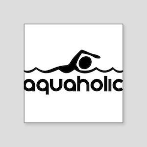 Aquaholic Sticker