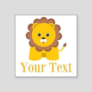 Personalizable Little Lion Sticker