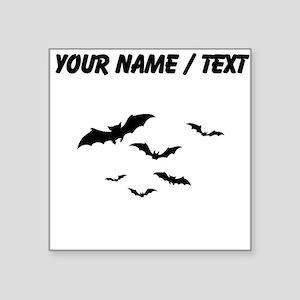 Custom Bats Flying Sticker