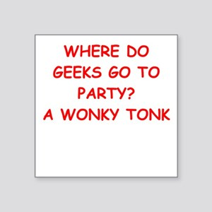 geek joke Sticker