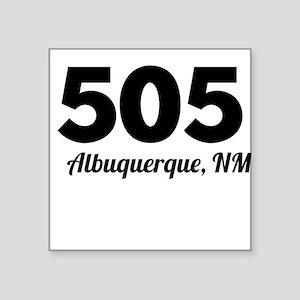 Area Code 505 Albuquerque NM Sticker