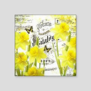 Vintage daffodils Sticker