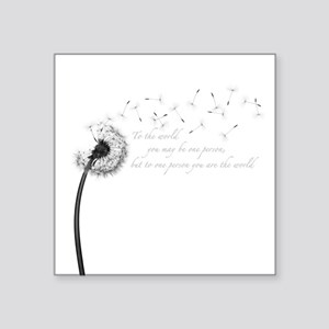 Dandelion Inspiration Sticker