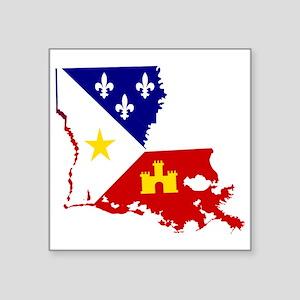 Acadiana State of Louisiana Sticker