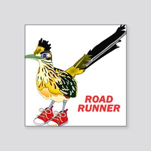 Road Runner in Sneakers Sticker
