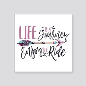 Life Is A journey Enjoy The Ride Sticker