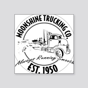 Moonshine hauling truck Sticker