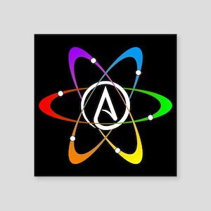 Atheist Atom Symbol Sticker