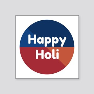 Colorful Happy Holi Sticker