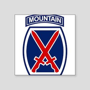 10th Mountain Division Sticker