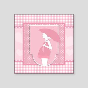 pink pregnancy Sticker