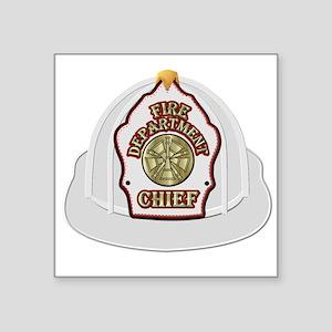 Traditional Fire Department Chief Helmet Sticker