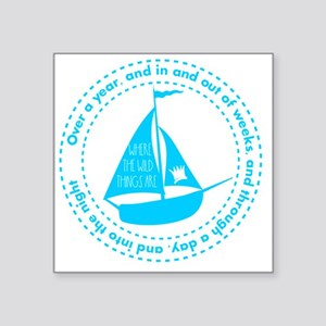 Where the wild things are Sailing Boat Sticker