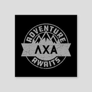 """Lambda Chi Alpha Adventure Square Sticker 3"""" x 3"""""""