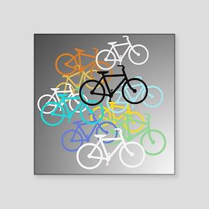 Colored Bikes Design Sticker