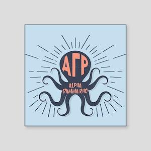 Alpha Gamma Rho Octopus Sticker