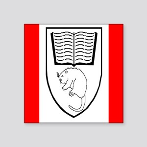 "Aklavik First Nation Flag Square Sticker 3"" x 3"""