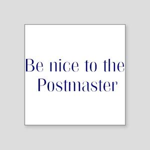 Postmaster Square Sticker